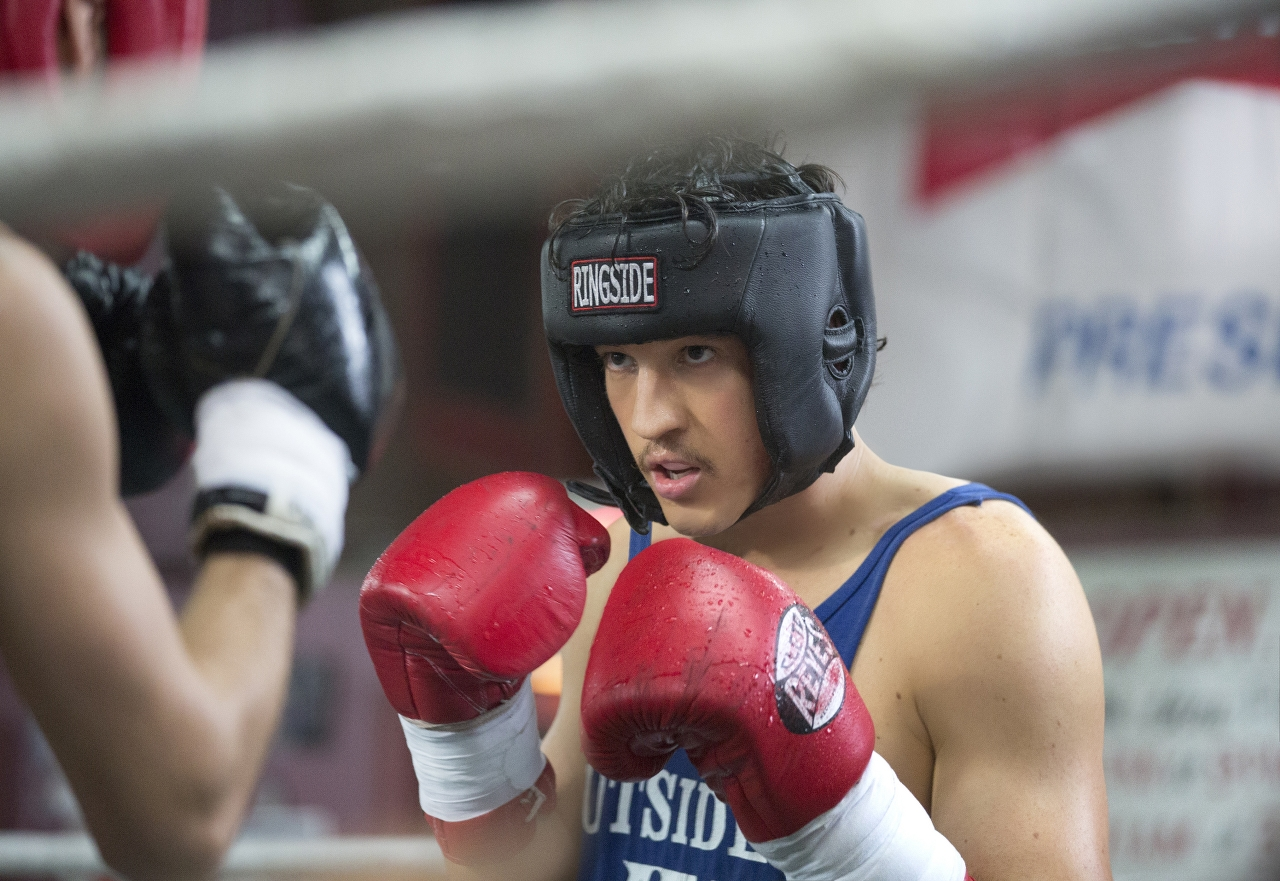 Miles Teller stars as Vinny Pazienza in BLEED FOR THIS. (Photo by Seacia Pavao / Open Road Films).