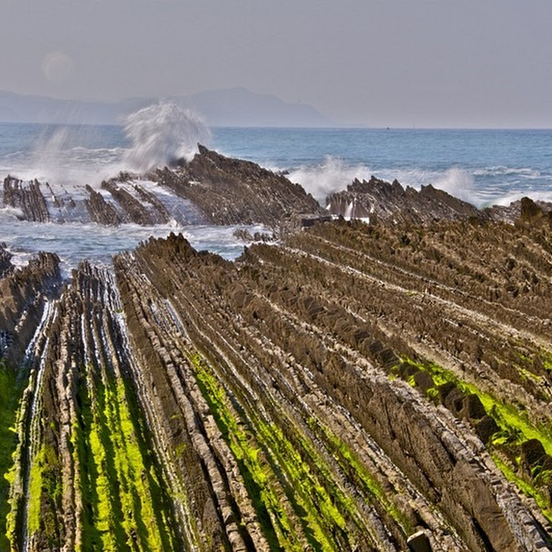 Flysch Formation in Zumaia