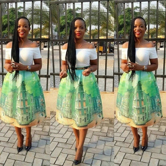 Latest Ankara Pleated Skirts Designs In South Africa 2