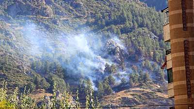 Spil Dağı'ndaki yangın sonrası 2 kişi göz altına alındı