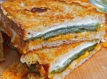 Jalapeno Poppin Grilled Cheese Sandwich