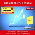 Ranking SEO paginas web