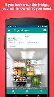 Pantry Photo-Fridge manage app - náhled