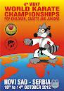 4th World WUKF Championship Children, Cadets and Juniors Serbia