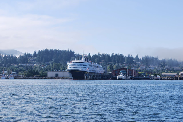 The Alaska Ferry docked at the Bellingham Cruise Terminal / Credit: Annette Bagley