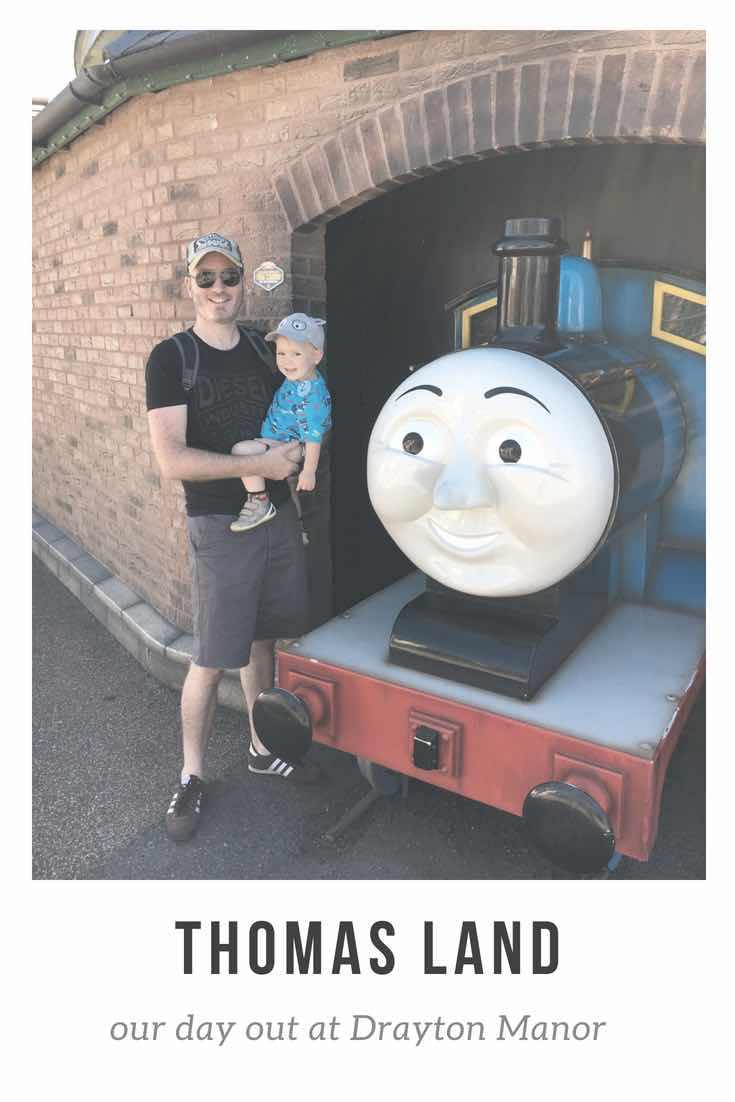 Thomas Land - a day out at Drayton Manor