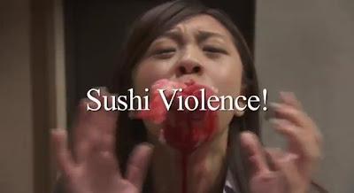 【動画】寿司が人間を襲うという映画「デッド寿司」の予告動画