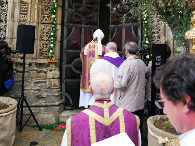 Lamego: Bispo abriu Porta Santa e falou do «regresso» a casa