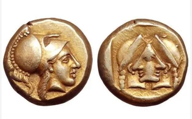 """Το μοναδικό αρχαίο ελληνικό νόμισμα με """"οπτική οφθαλμαπάτη""""."""