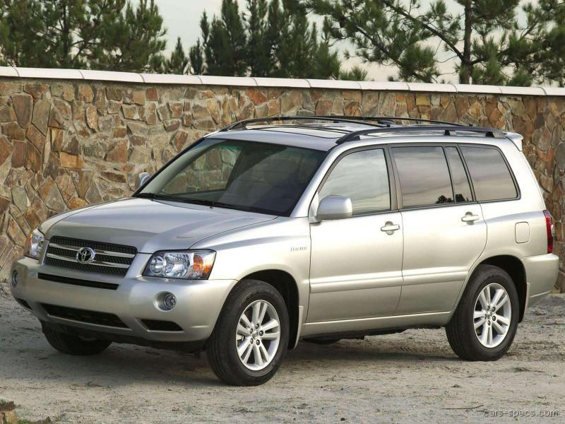 2007 toyota highlander hybrid suv specifications pictures. Black Bedroom Furniture Sets. Home Design Ideas