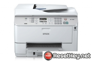 Reset Epson WorkForce WP-4590 End of Service Life Error message