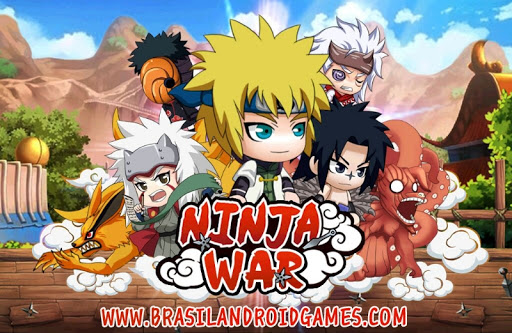 Ninja War Imagem do Jogo