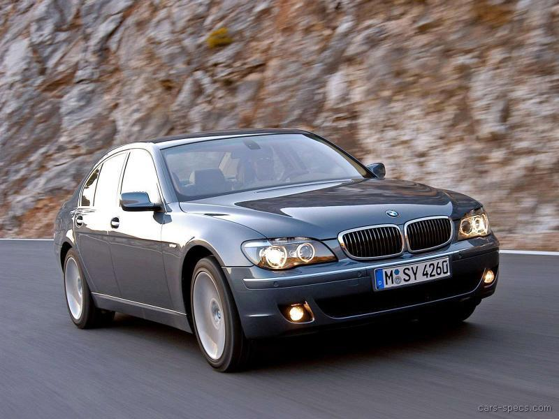2006 BMW 7 Series Sedan Specifications, Pictures, Prices