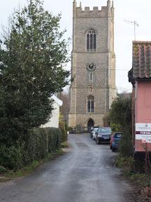 Ufford church tower