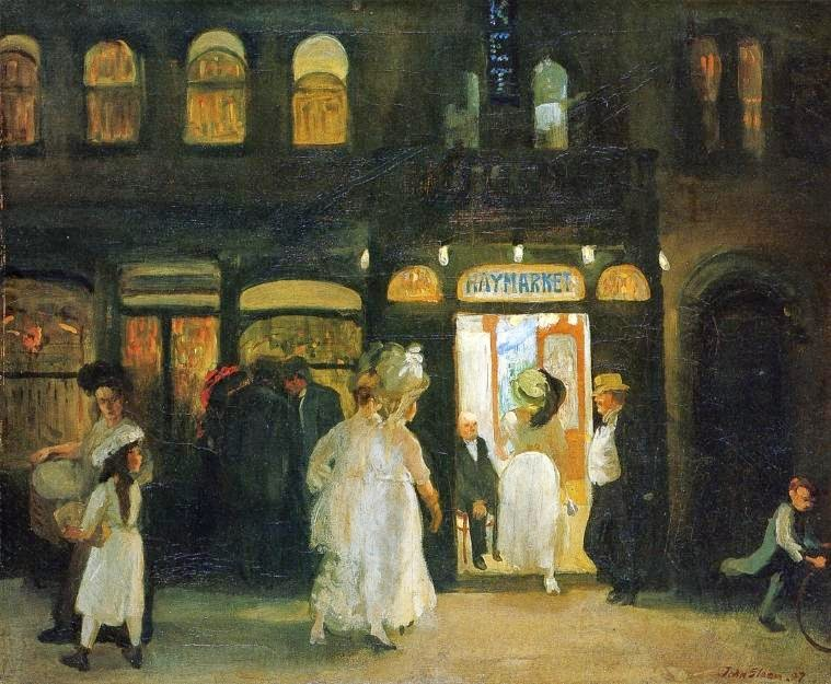 John Sloan - The Haymarket