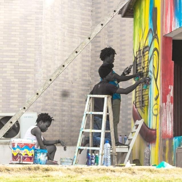EFFET GRAFF   Un festival africain