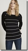 Mint Velvet Navy Striped Knit