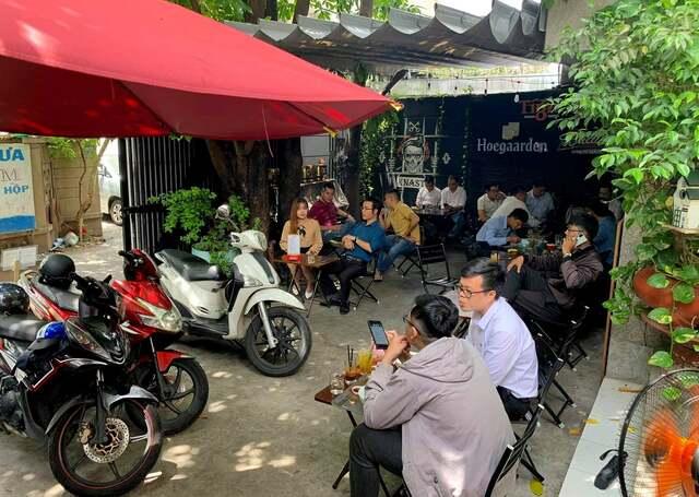 Thiết kế quán cafe vỉa hè hcm