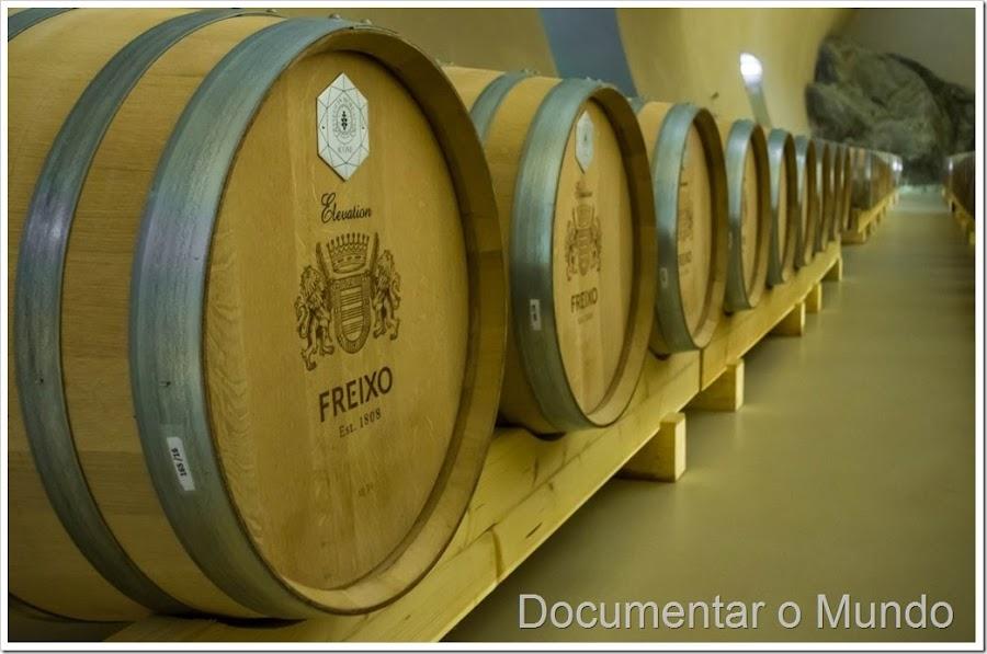 Herdade do Freixo, adegas Alentejo, adega subterrânea, vinhos Alentejo, adega  Frederico Valsassina , adegas arquitetónicas