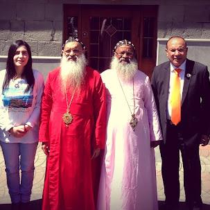 OCP Delegate Dr Rubina Khachatryan of Armenia meets Catholicose Baselios Paulose II