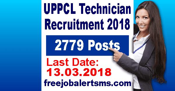 UPPCL Technician Recruitment 2018