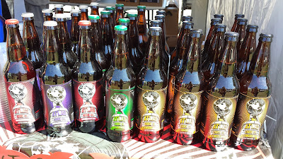 Atlas Cider Co at Bite of Oregon was selling their ciders in bottles as well as by the pint