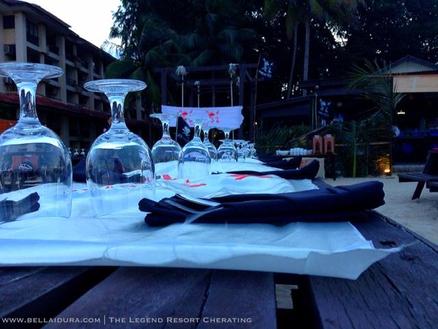 tempat makan malam cherating
