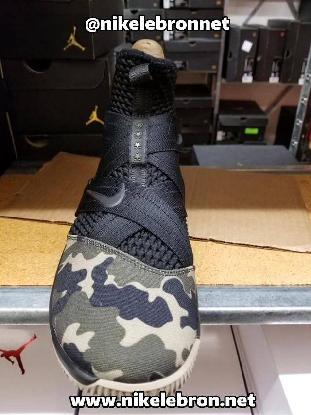 best sneakers e3f9a 41124 ... First Look at Nike LeBron Soldier 12 Hazel Rush