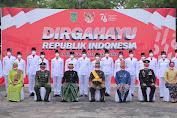Ikuti Upacara HUT ke-76 RI, Wakil Ketua DPRD Inhil: Semangat Juang Para pemimpin  Patut Ditiru