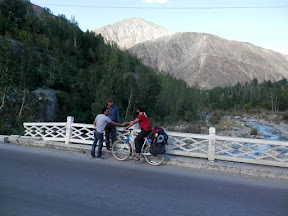 At Danyor nalla, Gilgit