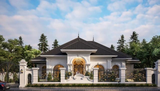 Mẫu biệt thự tân cổ điển đầy sáng tạo tại Quảng Ninh
