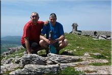 Beriain mendiaren gailurra 1.493 m.  --  2016ko ekainaren 5ean