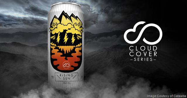 Catawba Brewing Unveils Cloud Cover Hazy IPA Series