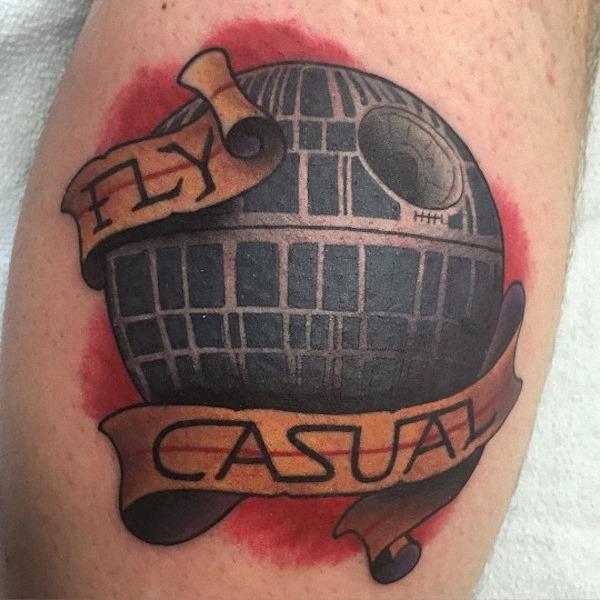 esta_hilria_engraçado_morte_tatuagem_de_estrela