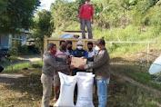 Dinsos Pemda Matin Salurkan Puluhan Ton Beras Untuk Warga 3 Desa Terkonfirmasi Covid 19