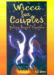 Cover of AJ Drew's Book Wicca for Couples Making Magick Together