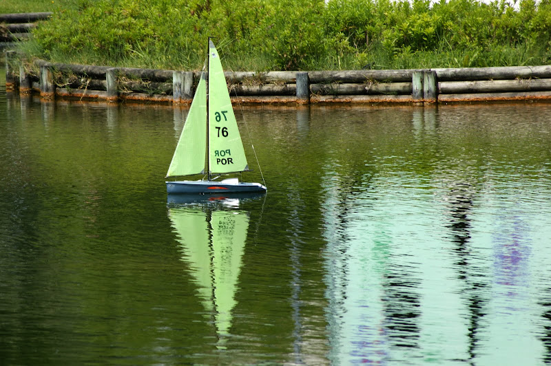 Dia de regata na Algodeia