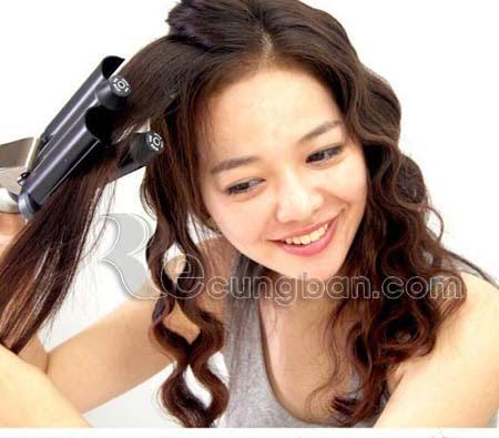 Máy làm tóc xoăn lượn sóng 3 trục HB25