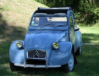 Citroën 1963 2 CV AZA bleu Monte Carlo