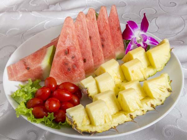 翠綠鮮甜水果