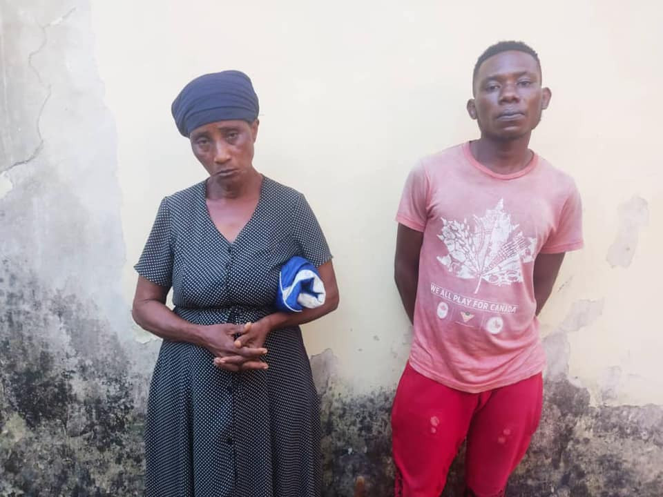 Woman who gave out her 7-year-old grand-daughter to men to sleep with and man who slept with the minor remanded in prison