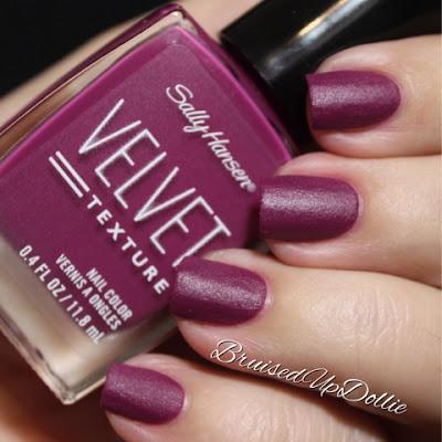 Sally Hansen Velvet Texture Crush Swatch