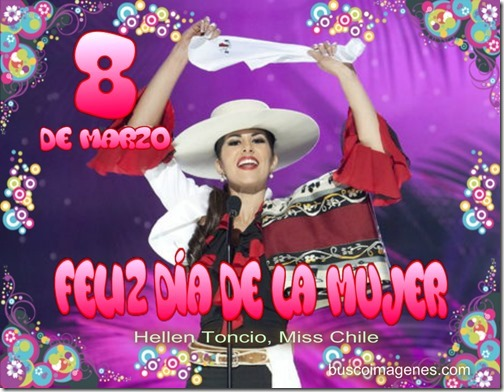 Hellen Toncio, Miss Chile
