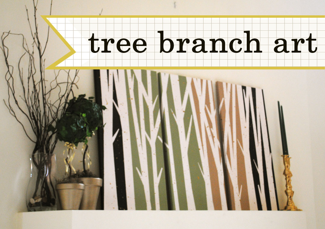 Wall Art Tree Diy : Diy tree branch art allison affourtit