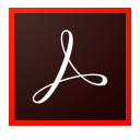 Logo of Adobe Acrobat – PDF and e-signature tools