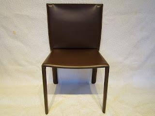 Enrico Pellizoni Brown All Leather Chair