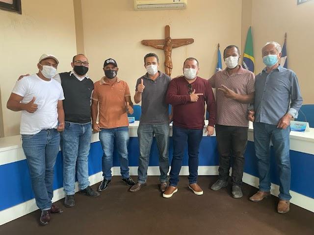 ELEIÇÕES 2022: Cafu Barreto fortalece alianças no município de Central Bahia