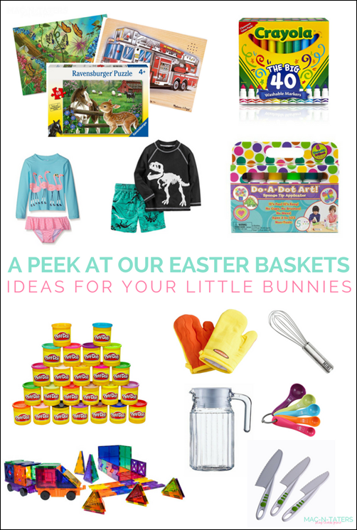 Easter Basket Gift Ideas for Kids: Perfect for the creative kids and montessori children.
