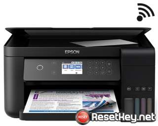 How to reset Epson L6168 printer