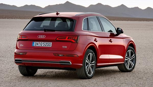 new Audi Q5 rear